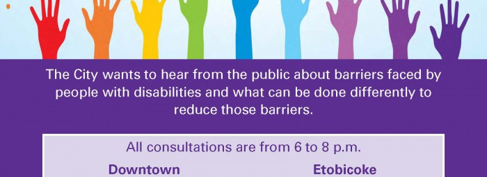 AccessibilityConsultationPoster