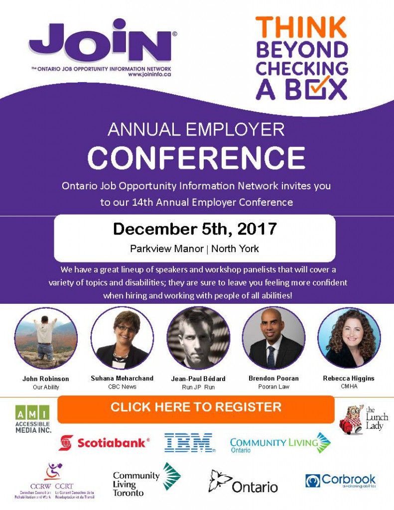 JOIN Conference -  Invitation 2017 Also available in a PDF