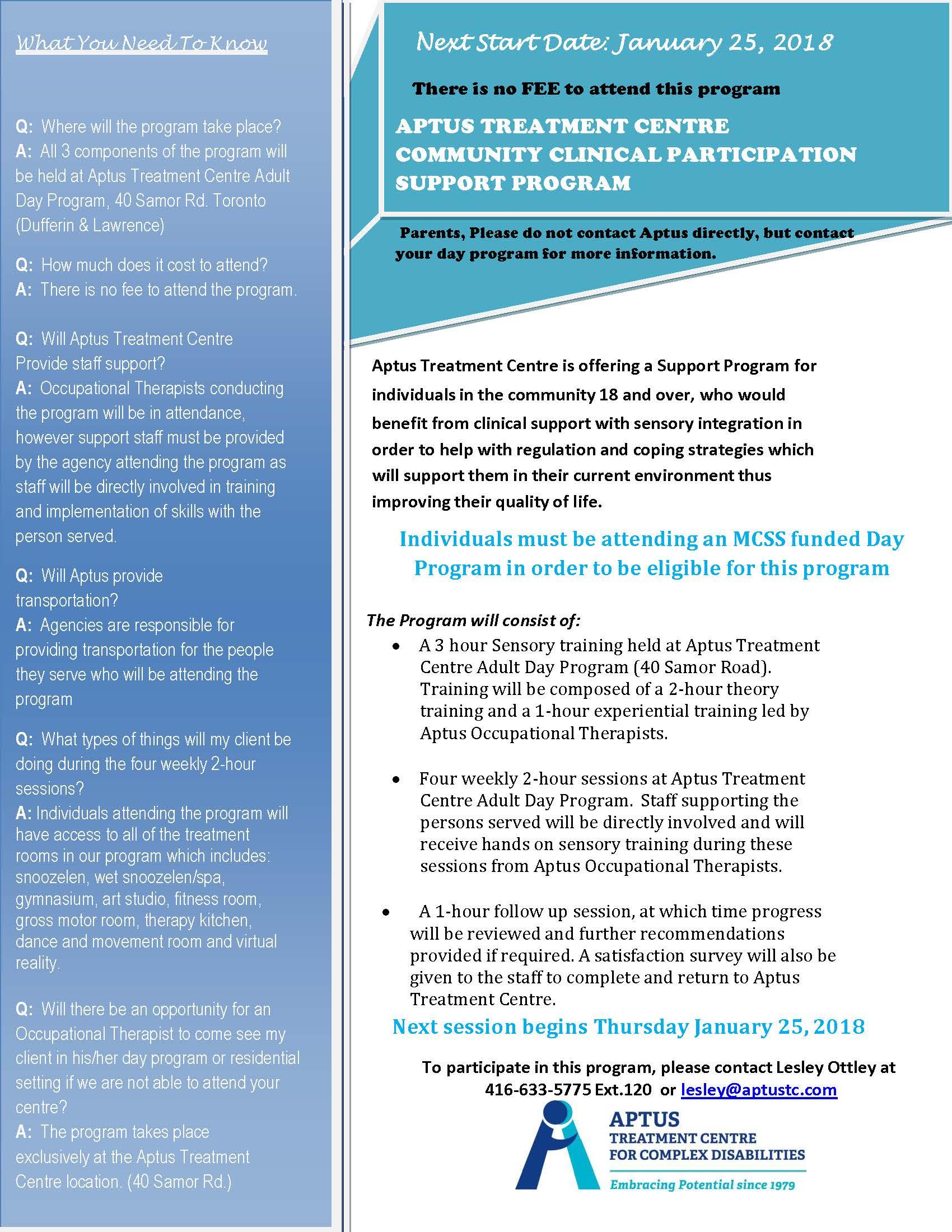community treatment program Comprehensive school and community treatment (csct) comprehensive school and community treatment is a comprehensive planned course of community.