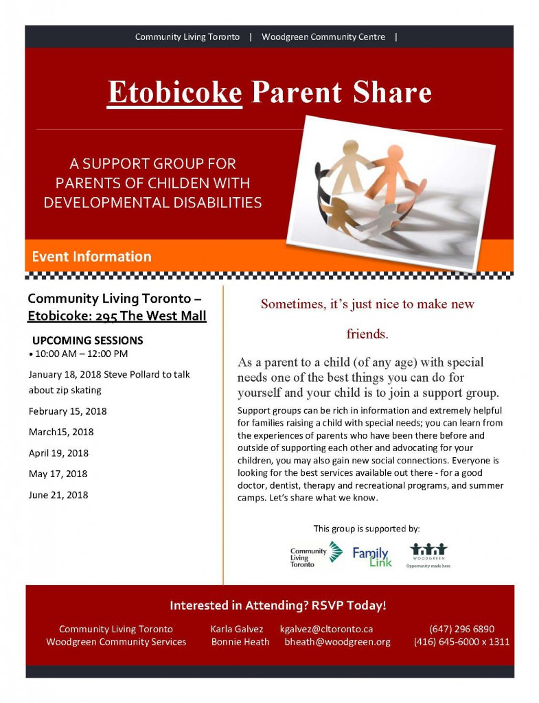 Etobicoke Parent Share