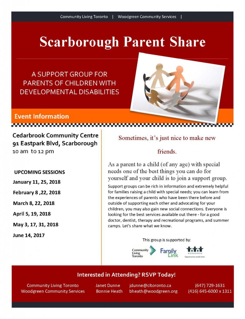 Scarborough Parent Share