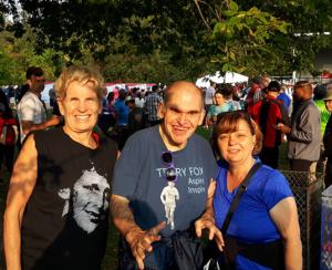 Kathleen Wynne, Bob, and Carol at the Terry Fox Run