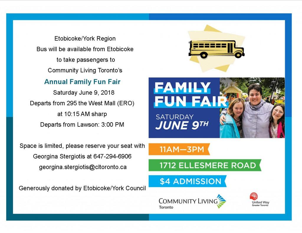 Bus transportation  to Fun Fair_2018