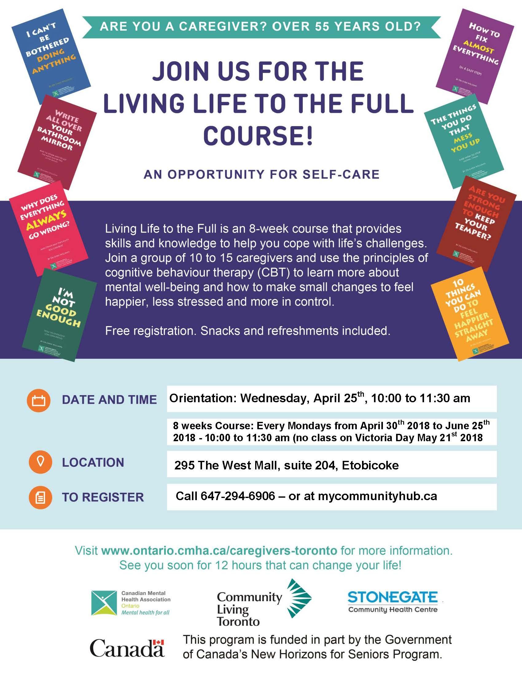 CommunityLivingEtobicoke_Living Life to the Full