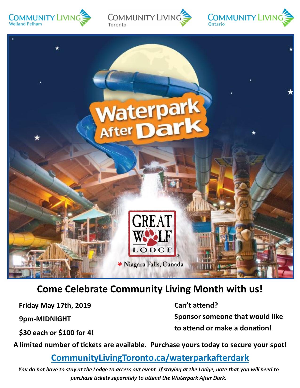 Park after dark flyer