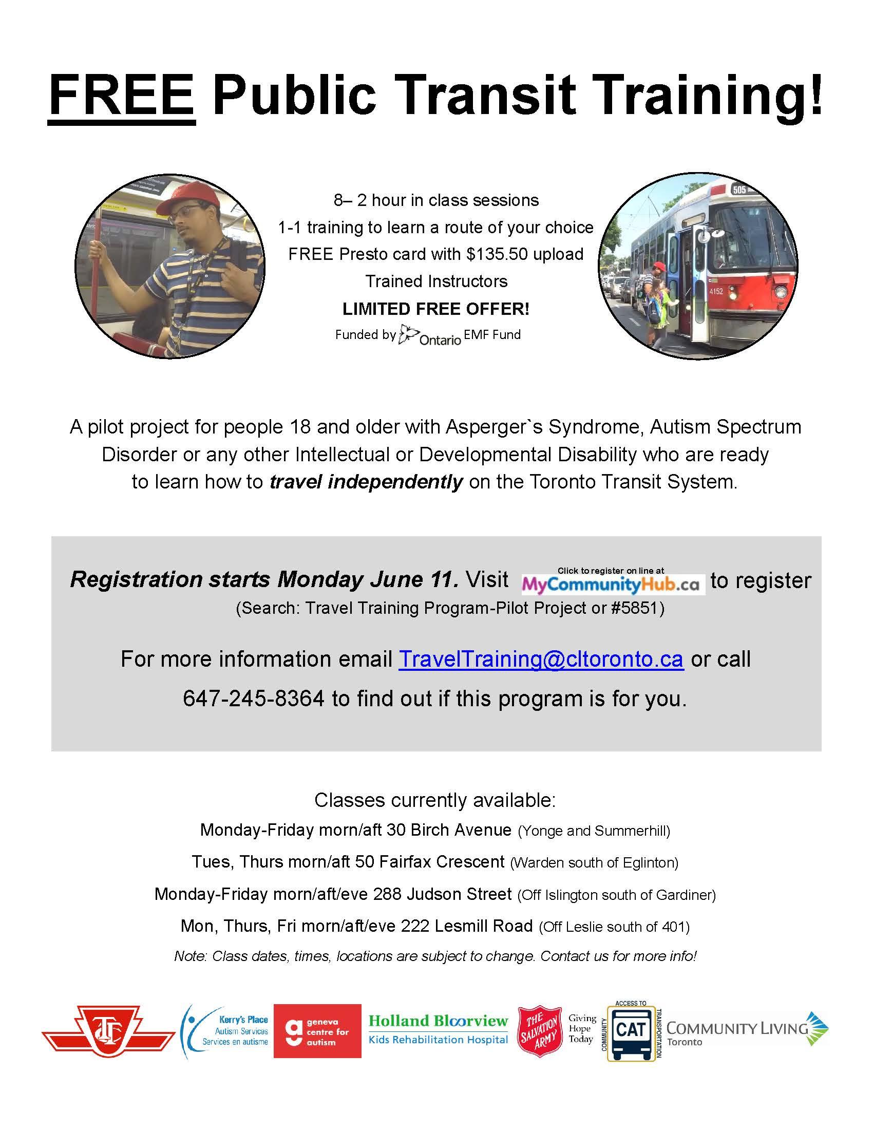 Pilot Program Recruiting Flyer