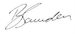 Brad Saunders - black pen
