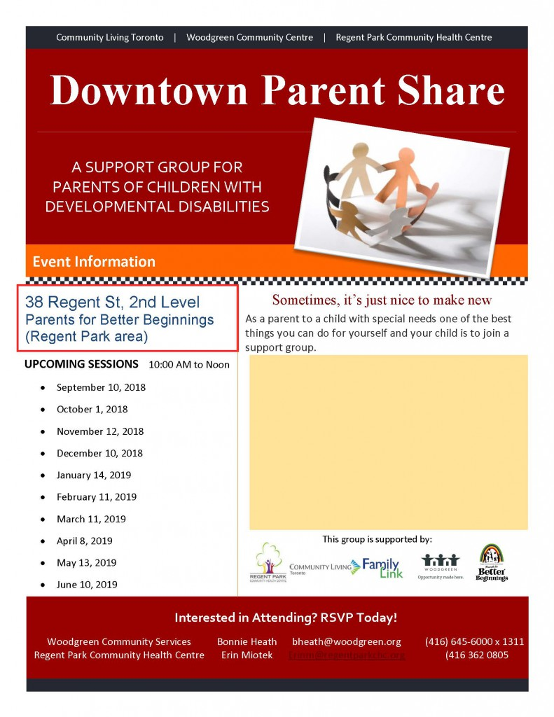 Downtown Parent Share  2019