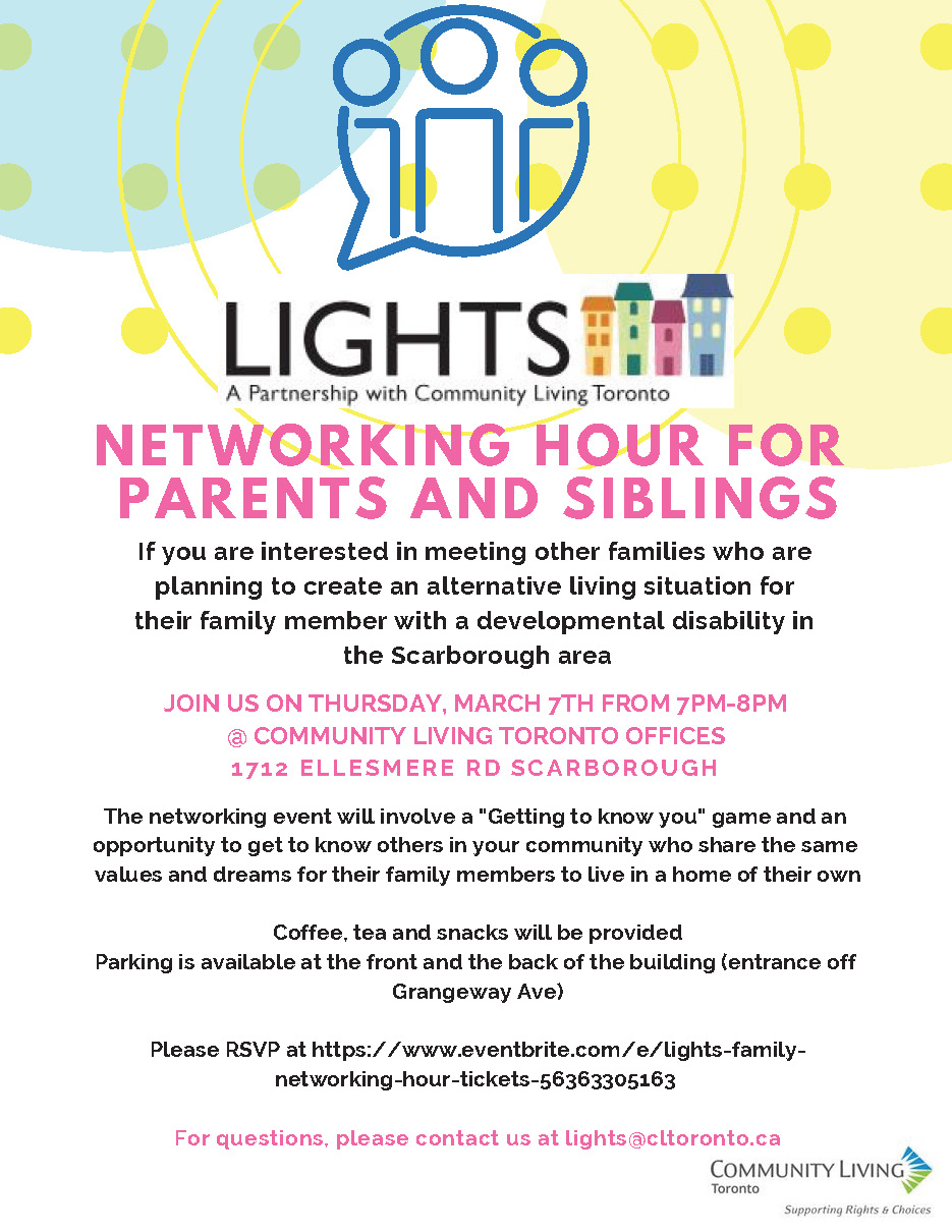 Networking Evening for Parents EAST