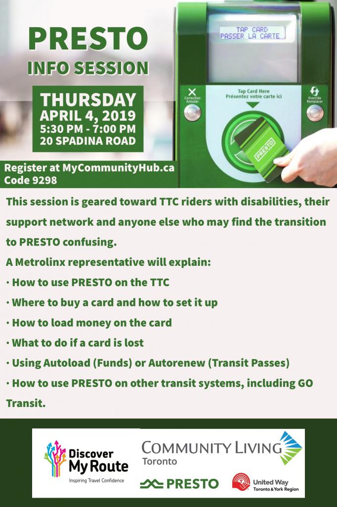 PRESTO Information Session Flyer - Final