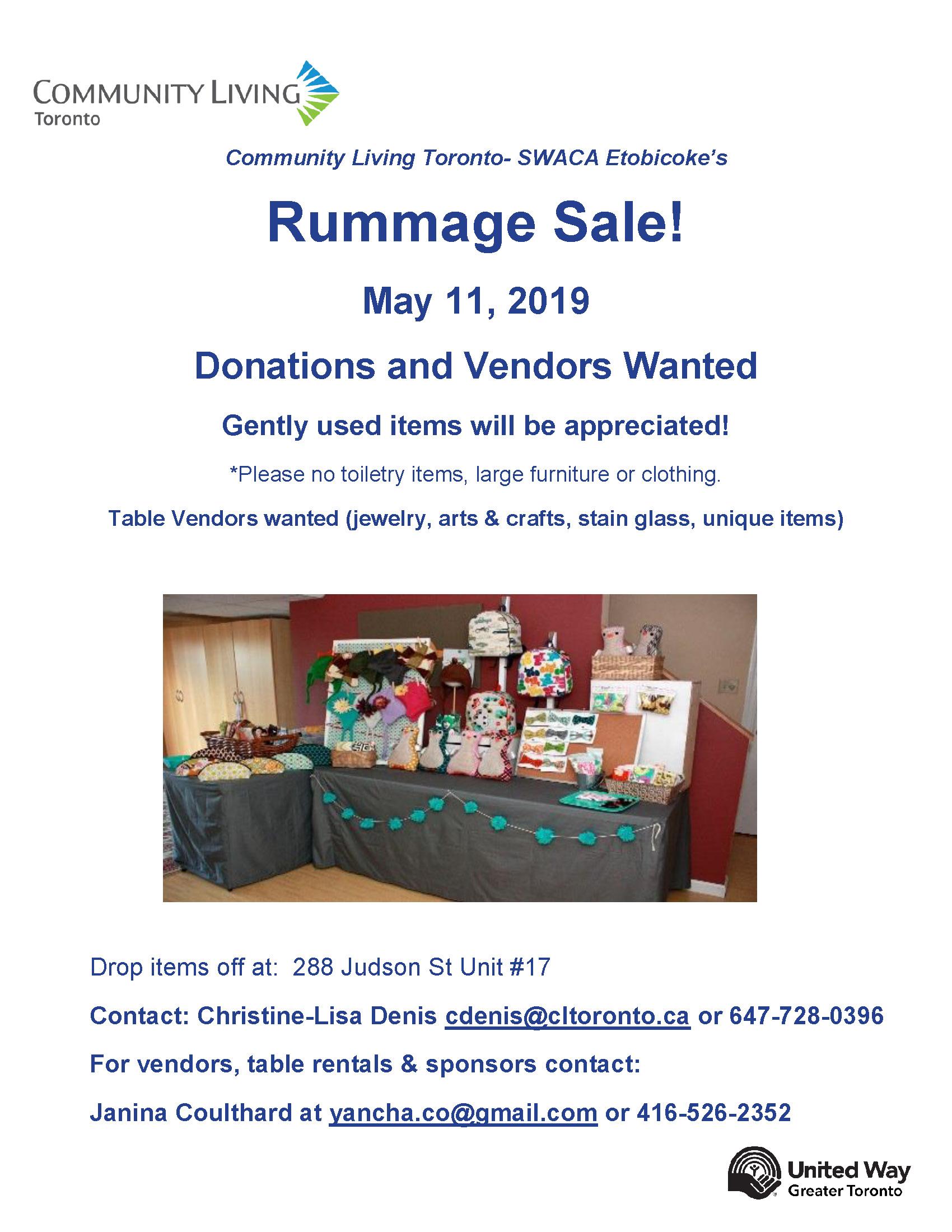 Rummage Sale- Donations