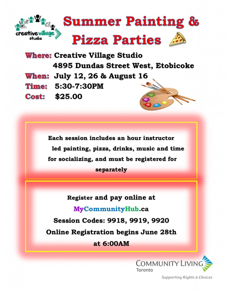 Painting and pizza parties flyerv2